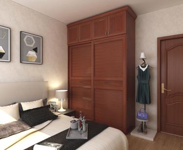 全铝中式衣柜-效果图3