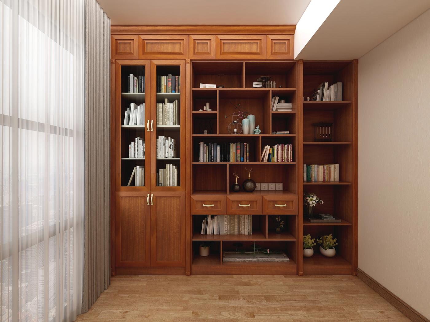 创万嘉全铝书柜