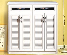 全铝鞋柜-款式2(白喷涂)